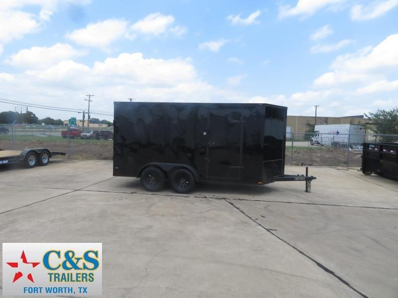 2019 Lark 7 X 14TA Enclosed Cargo Trailer