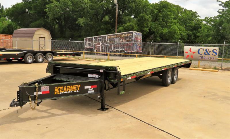 "2019 Kearney 102"" x 24' Equipment Trailer"