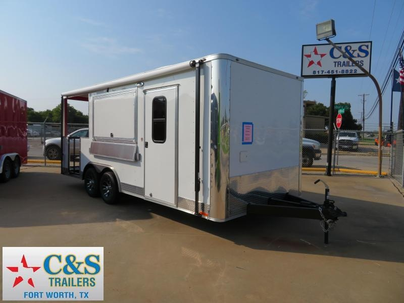 2018 Spartan SP8.5x20 Vending / Concession Trailer