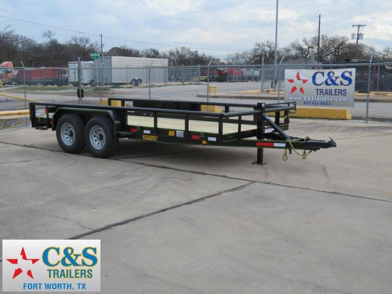 2019 Salvation Trailers 83 x 16 Equipment Trailer