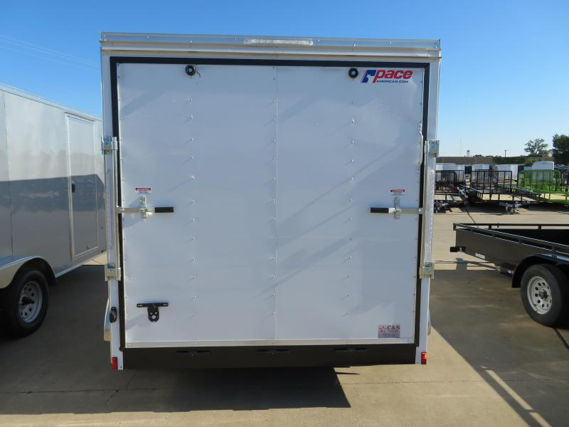 2018 Pace American 7X16 Enclosed Cargo Trailer