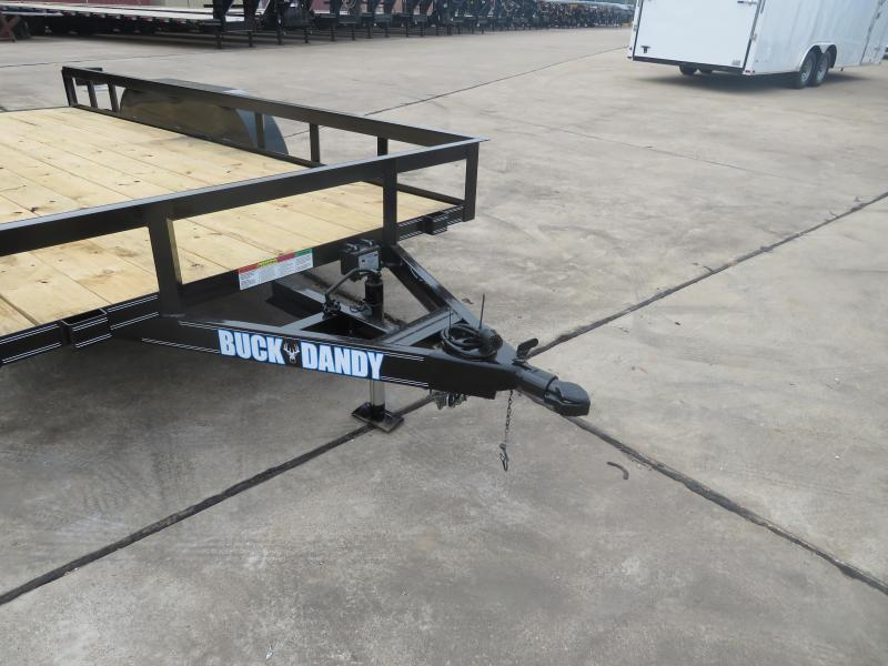 2019 Buck Dandy 77 x 14 Utility Trailer