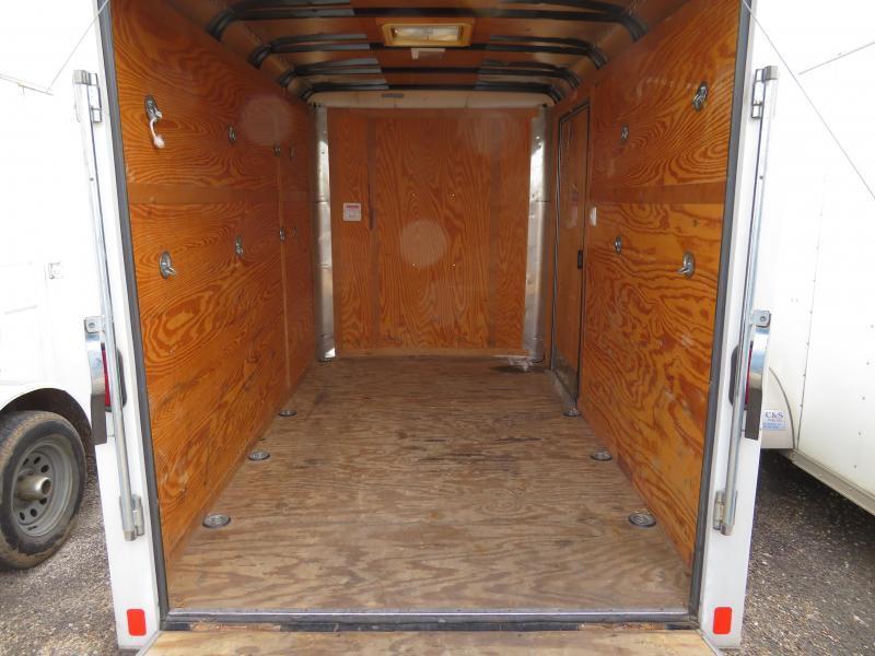 Rental 35 - Pace American CS610SA Enclosed Cargo Trailer