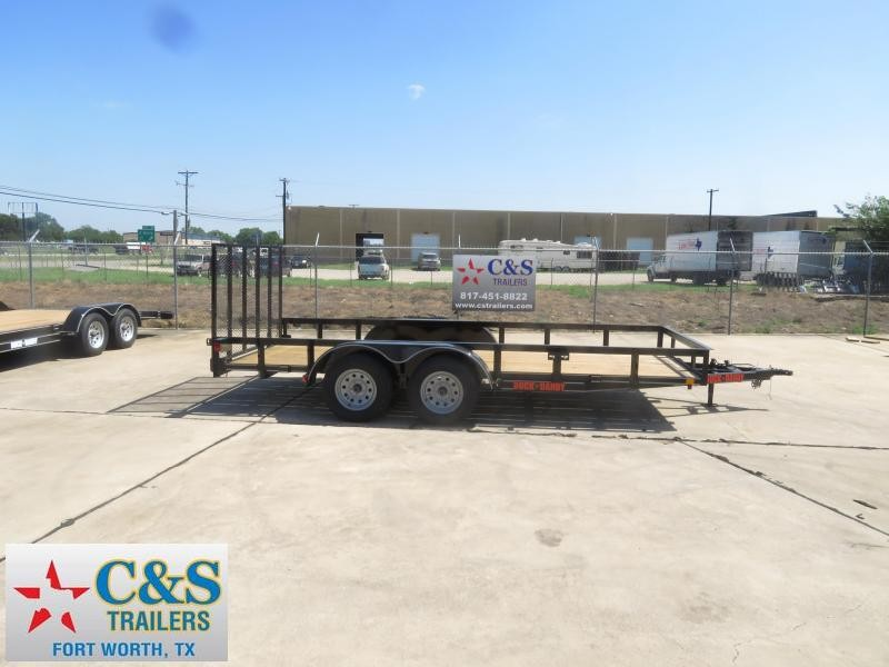 2019 Buck Dandy 77 x 16 Utility Trailer in Ashburn, VA