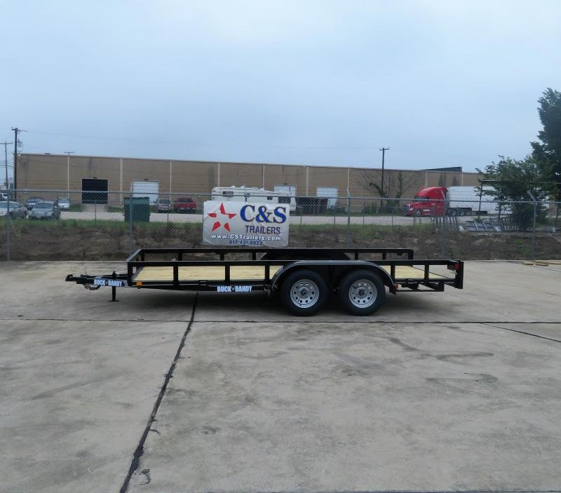 2019 Buck Dandy 77 x 16 Utility Trailer