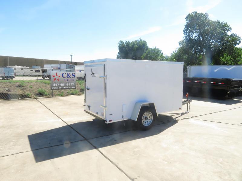 2019 Lark 5 x 10 Enclosed Cargo Trailer