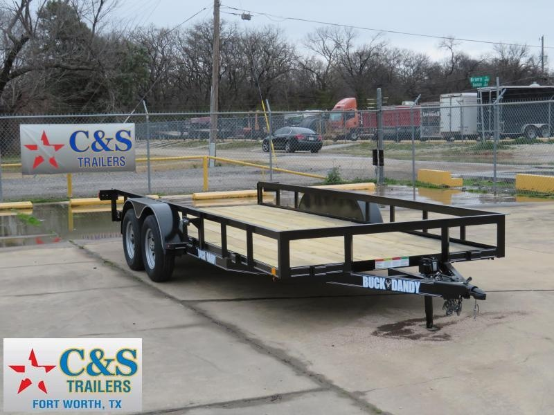 2019 Buck Dandy 83 x 18 Utility Trailer