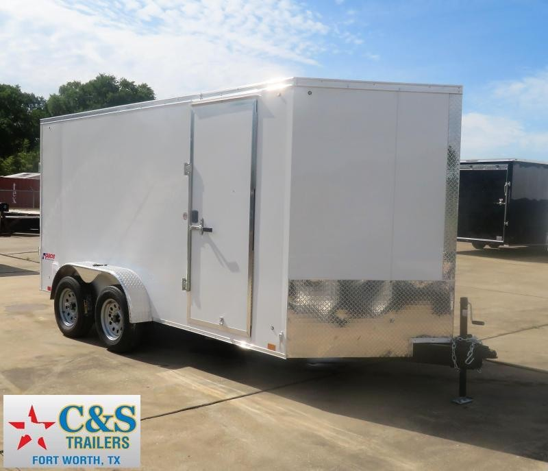2019 Pace American 7 x 14 Enclosed Cargo Trailer
