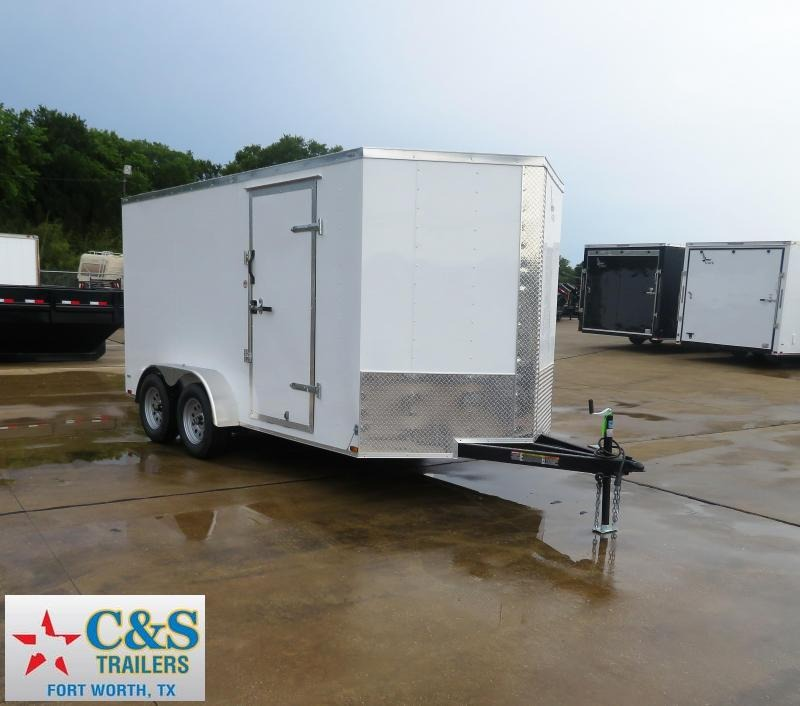 2019 Lark 7 x 14 Enclosed Cargo Trailer