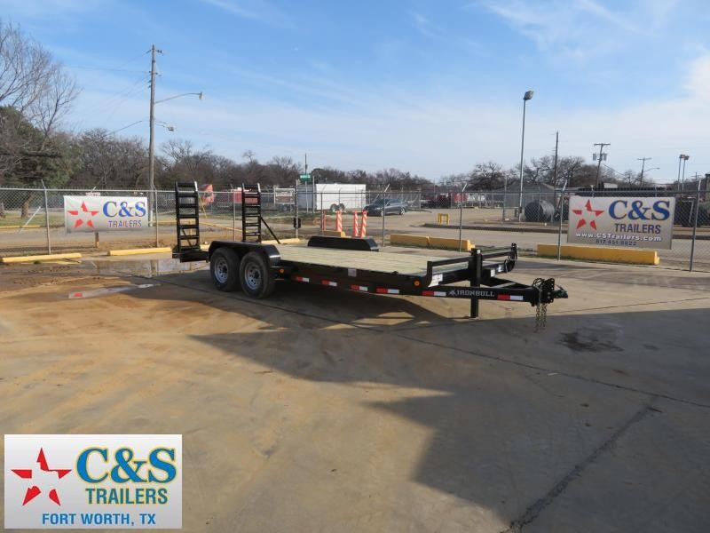 "2019 Iron Bull 83"" x 20' Equipment Trailer"
