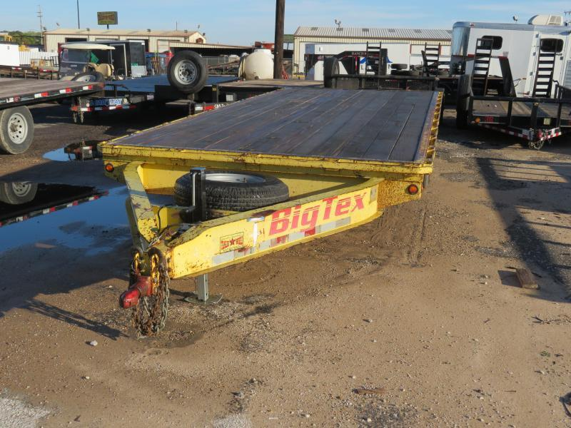 Rental 1 - Big Tex 20' Deckover Trailer