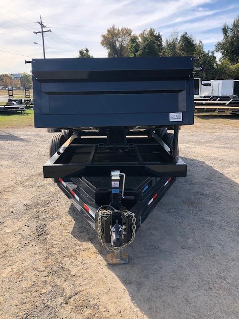 2018 Iron Bull 72x12 BPTA Dump Trailer