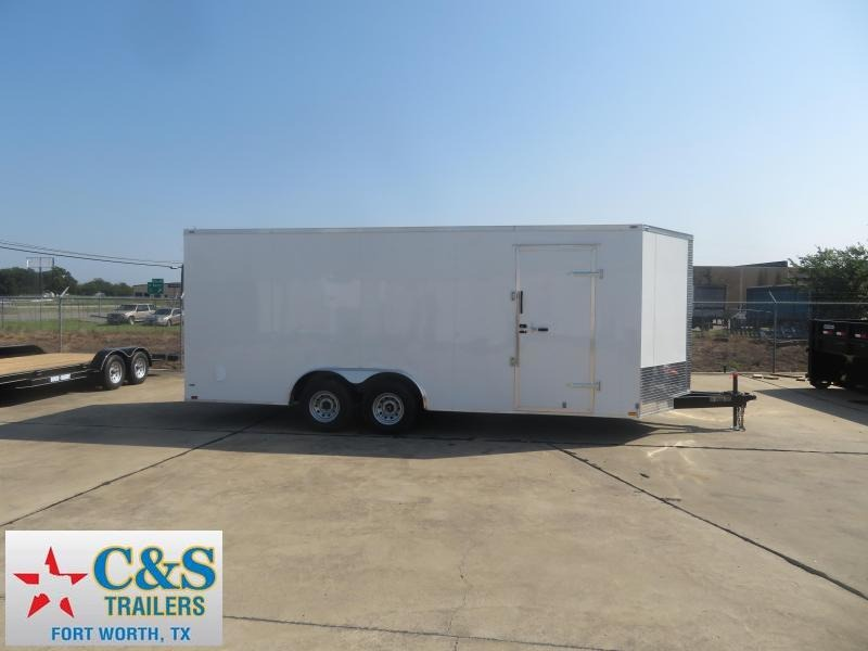 2019 Lark 8.5 X 20 Enclosed Cargo Trailer