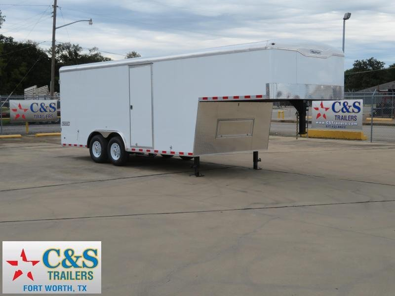 2019 Haulmark 8.5 x 26 Gooseneck Enclosed Cargo Trailer
