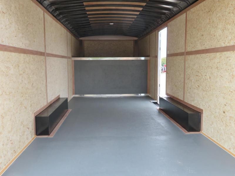 2019 Haulmark 8.5 x 26 Gooseneck Enclosed Cargo Trailer