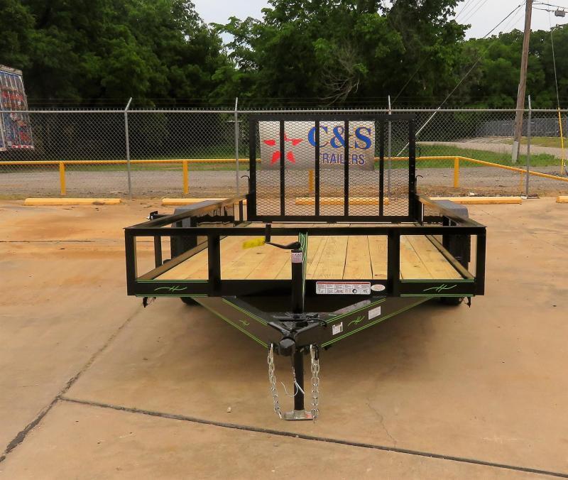 2019 Kearney 77 x 16 Utility Trailer