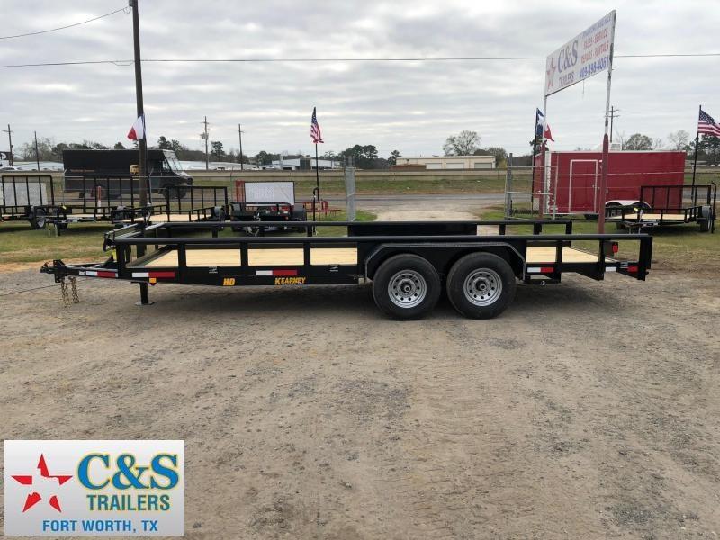 2019 Kearney 83x20 BPTA Equipment Trailer in Ashburn, VA
