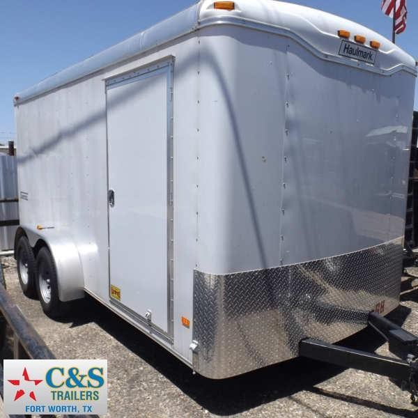 Rental 68 - 2016 Haulmark 14 Cargo Enclosed Cargo Trailer
