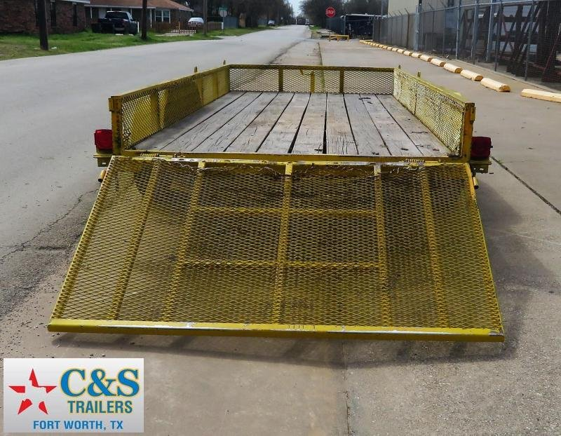 2011 Other 77 x 16 Utility Trailer
