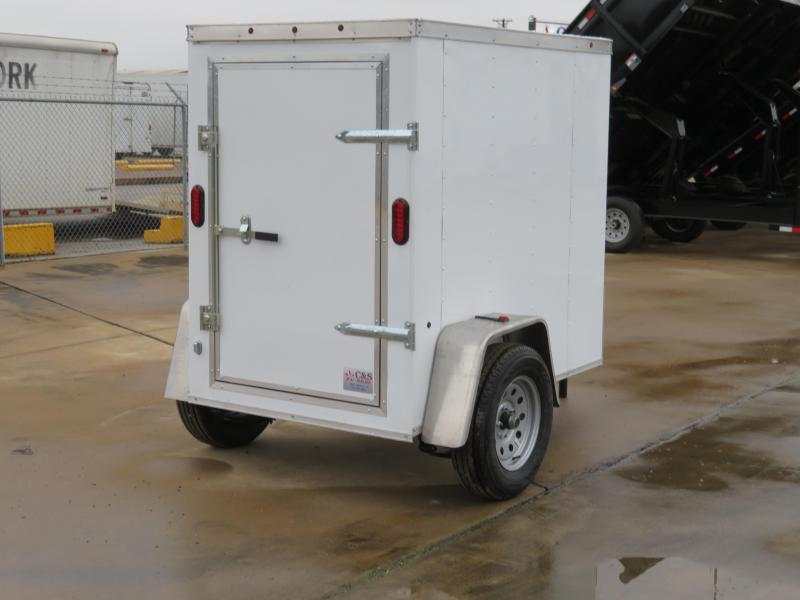 2019 Salvation Trailers 4 x 6 Enclosed Cargo Trailer