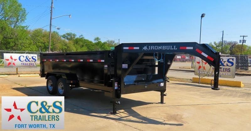 2019 Iron Bull 83 x 16 Dump Trailer