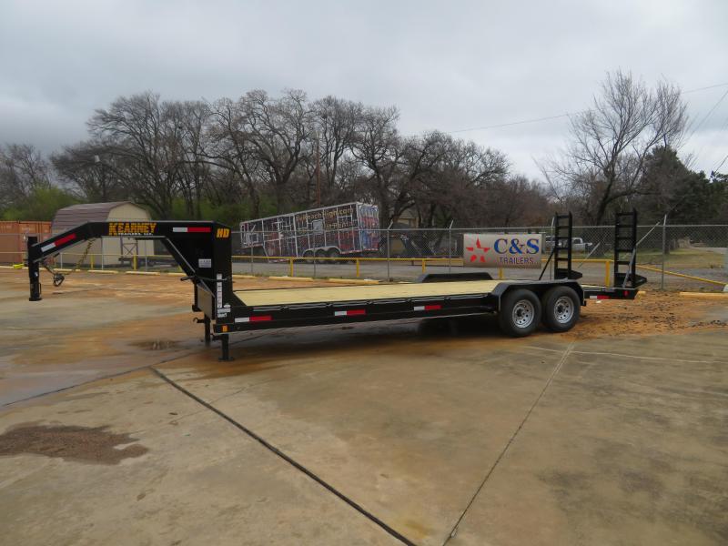 2019 Kearney 83x24 GN Equipment Trailer
