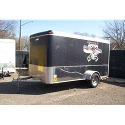 Rental 42 - Pace American 6' x 12' Enclosed Cargo Trailer