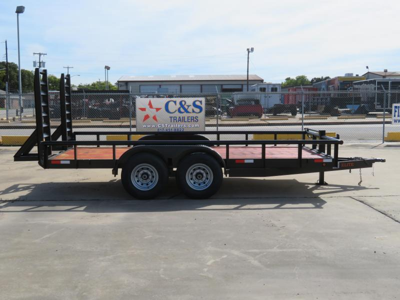 2019 Salvation Trailers 83 x 16 Utility Trailer