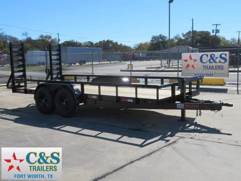 2019 Salvation Trailers 83 x 18 Equipment Trailer