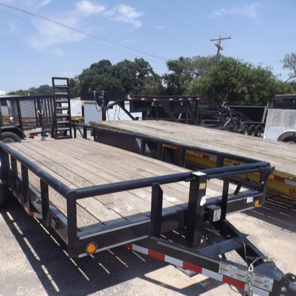"""Rental 36 - Load Trail 83"""" x 18' Equipment Trailer in Ashburn, VA"""