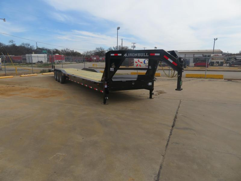 "2019 Iron Bull 102"" x 40' Gooseneck Equipment Trailer"