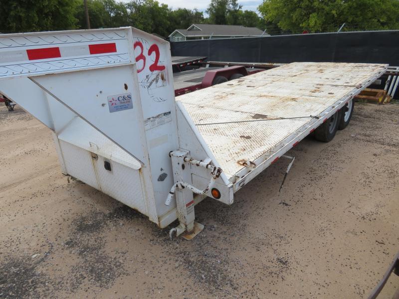 "Rental 32 - PJ Trailers 91"" x 22' Tilt Deck Equipment Trailer"