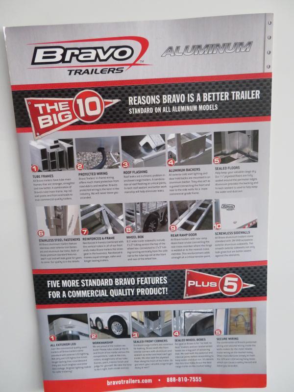 2019 Bravo Trailers 102 x 28 Car / Racing Trailer