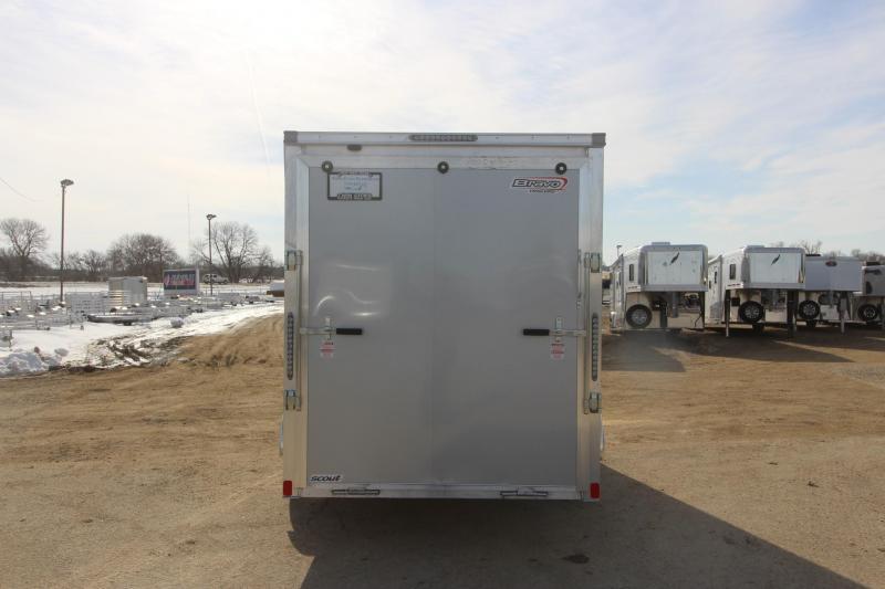2019 Bravo Trailers 6x12 Aluminum Scout Enclosed Cargo Trailer