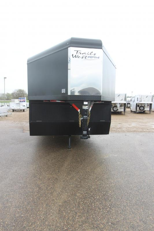 2018 Trails West Manufacturing RPM 28 Snowmobile Trailer