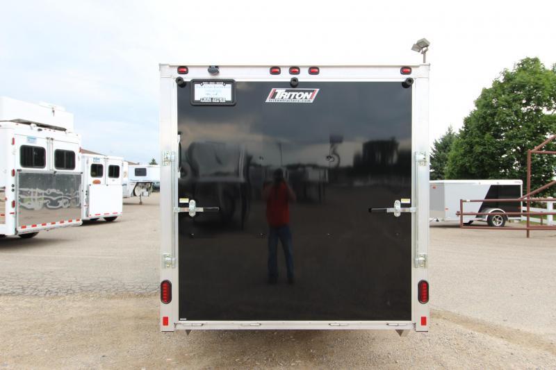 2019 Triton Trailers 7x14 Drive Off Front Snowmobile Trailer