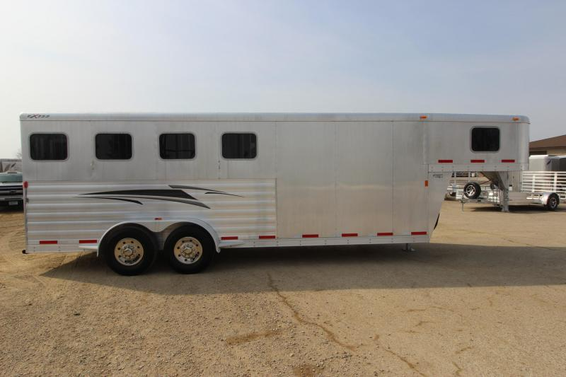 2013 Exiss Trailers 4HR GN Horse Trailer