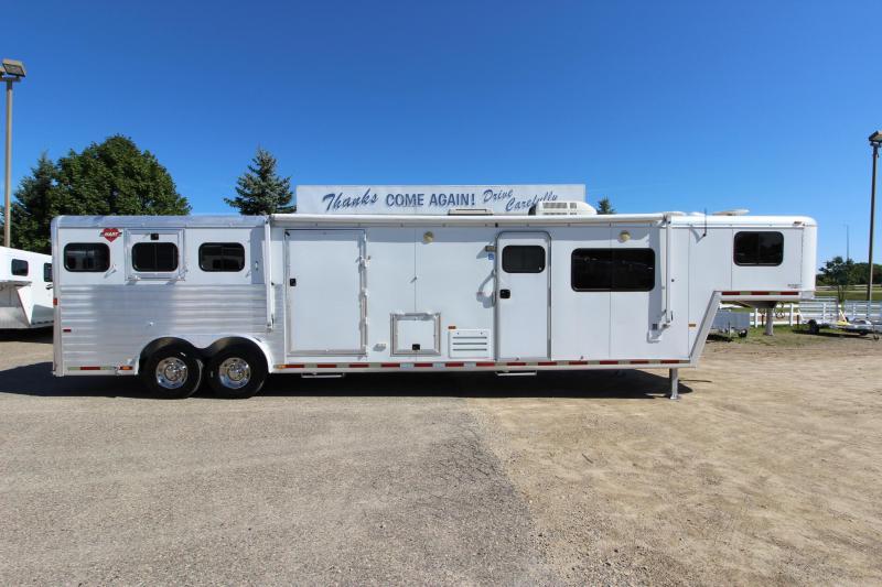 2001 hart trailers 3hr 15 5 lq mt horse trailer horse trailers for