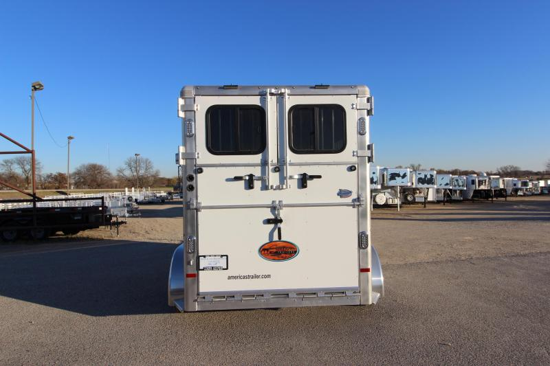 2019 Sundowner Trailers Charter 2HR BP Horse Trailer