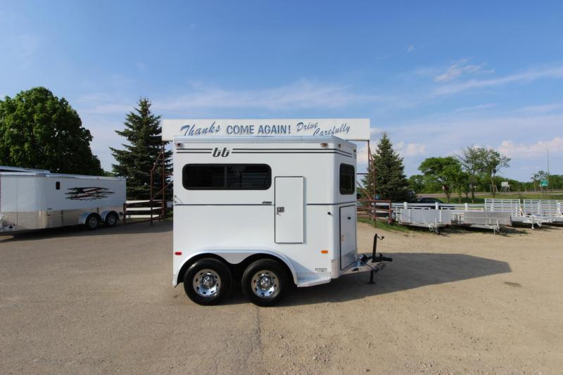 2001 Turnbow Trailers 2HR BP Horse Trailer