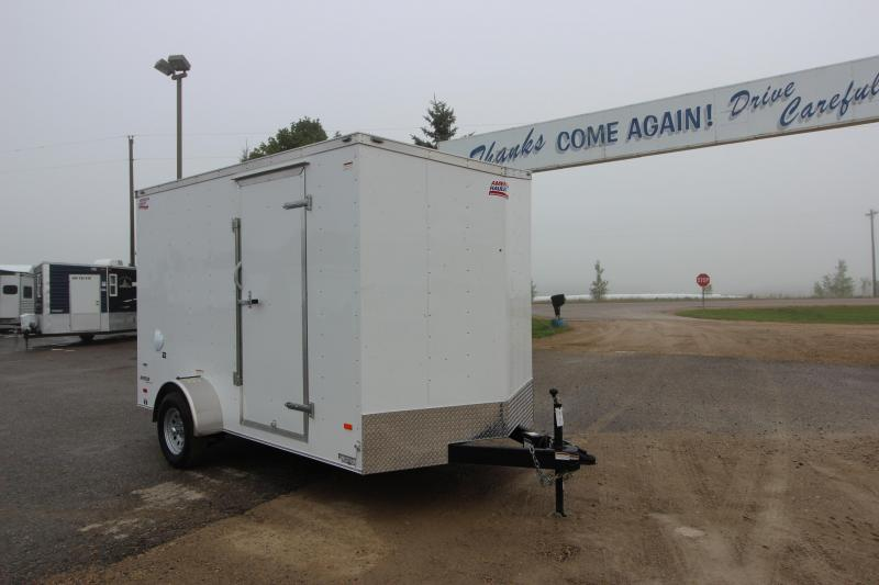 2019 American Hauler Industries 7x12 Enclosed Cargo Trailer