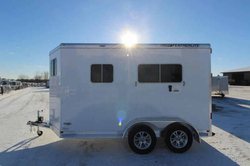 2018 Featherlite 9652 2HR Straight Load Horse Trailer
