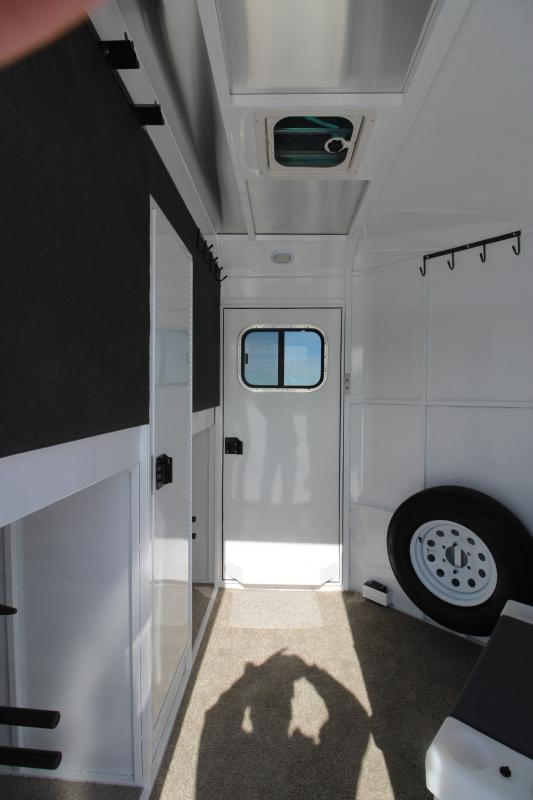 2019 Trails West Manufacturing Royale Side x Side Horse Trailer