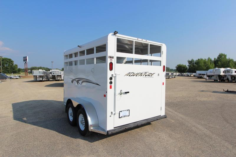 2019 Trails West Manufacturing Adventure II 2HR BP Horse Trailer