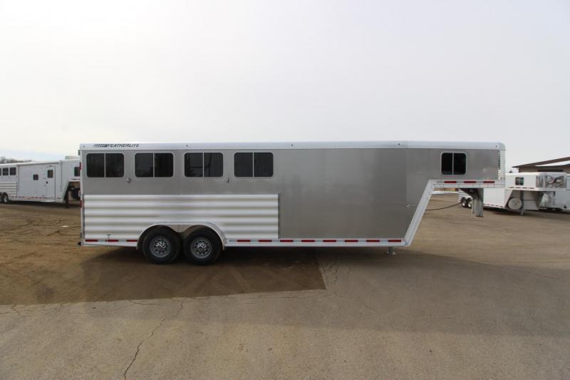 2018 Featherlite 8541 4HR GN Horse Trailer
