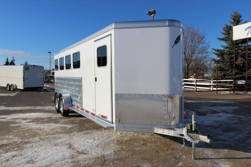 2019 Featherlite 9409 4HR BP Horse Trailer