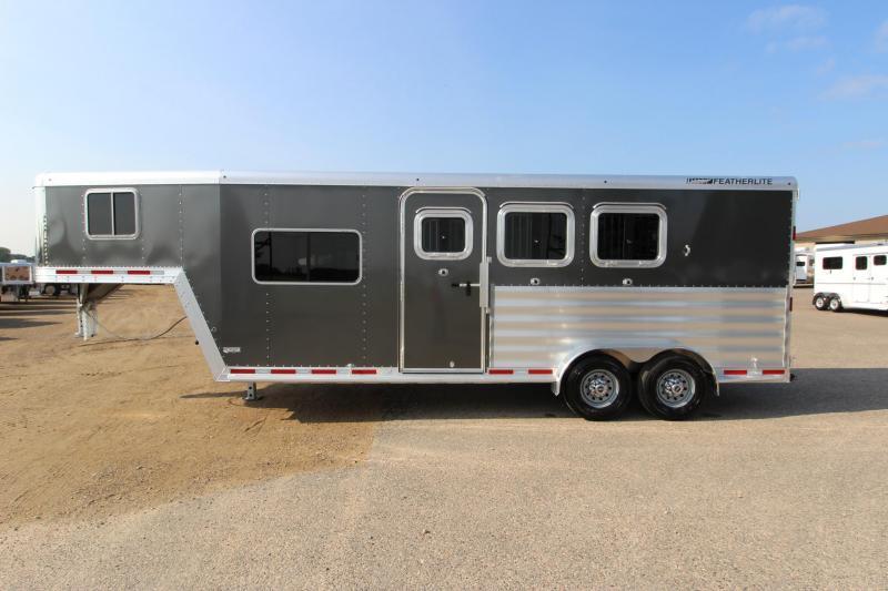 2019 Featherlite 8541 3HR 6 LQ Prep Horse Trailer