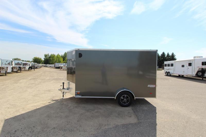 2019 Bravo Trailers 7x12 Aluminum Enclosed Cargo Trailer