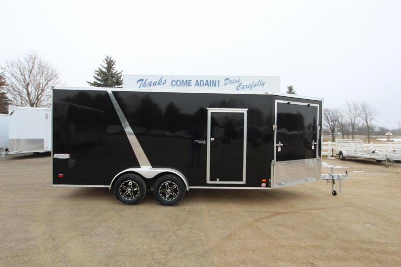 2019 Bravo Trailers Silver Star 7x16 Snowmobile Trailer in Ashburn, VA