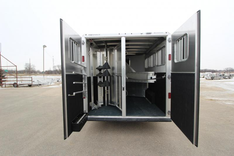 2018 Featherlite 3HR 13 LQ w/Slide Horse Trailer